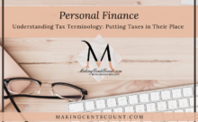 Understanding Tax Terminology: Putting Taxes in Their Place