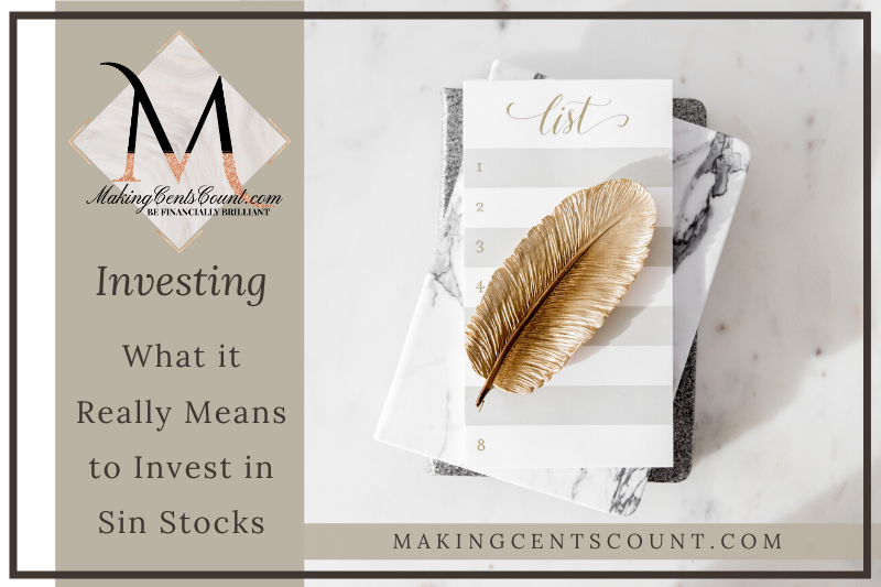 What it Really Means to Invest in Sin Stocks