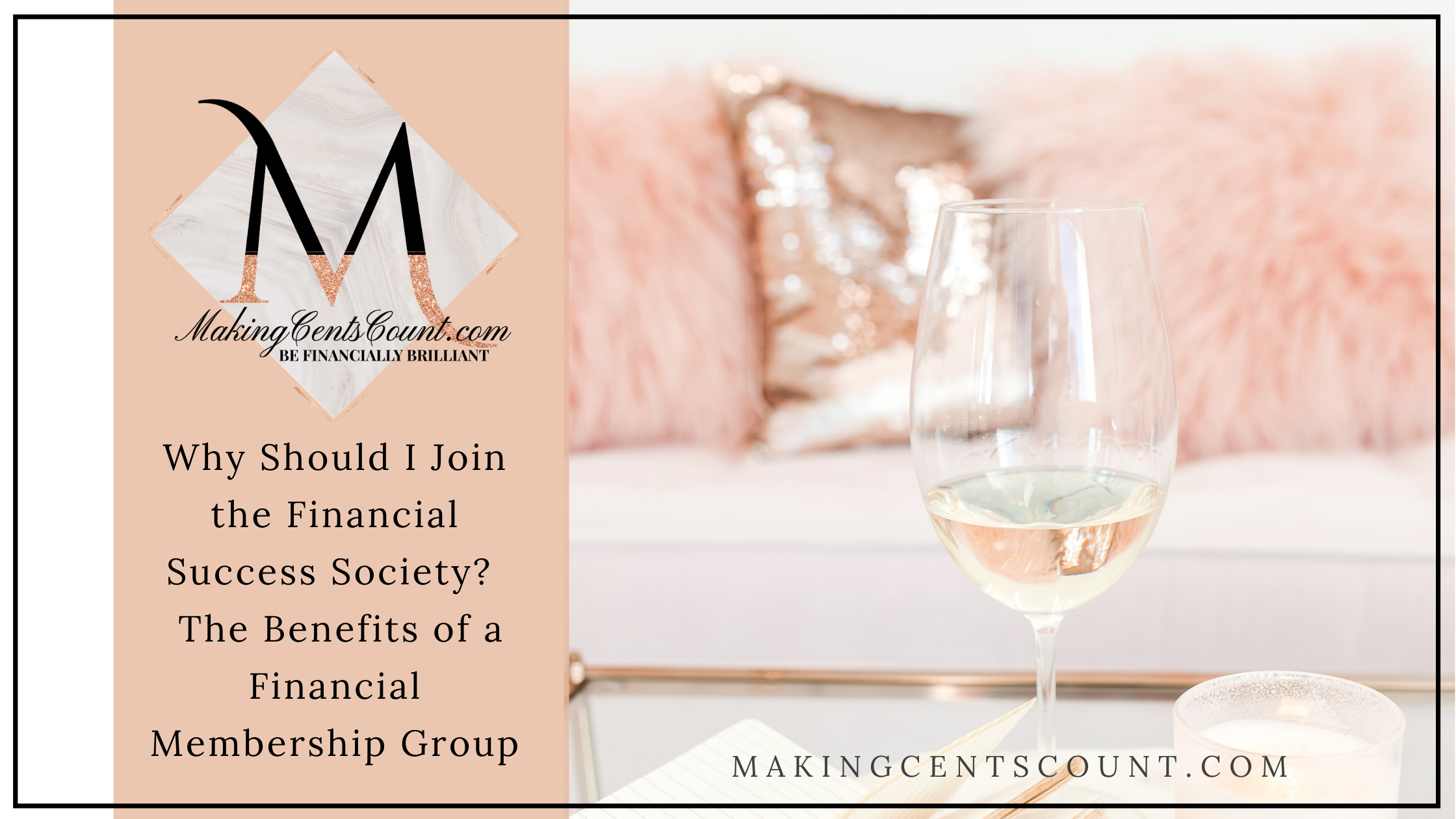 Why Should I Join the Financial Success Society? The Benefits of a Financial Membership Group